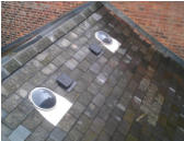 roof lights in slate roof