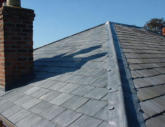 Lead Hip Slate Roof Chester