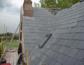 Slate Roof and Lead Valley