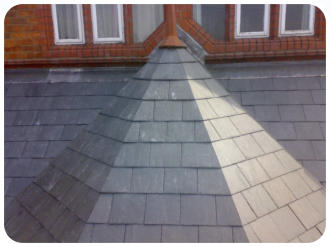 slate roof in chester